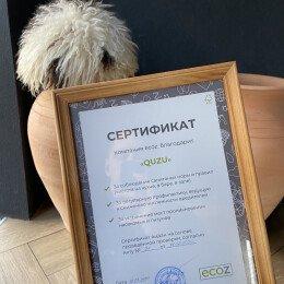 Сертификат Quzu